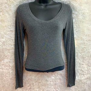 Brandy Melville Cotton Blend Long Sleeve Top!